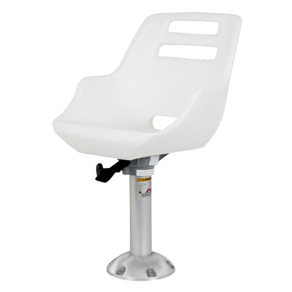 Springfield Admiral Chair Package With Locking Slide, White