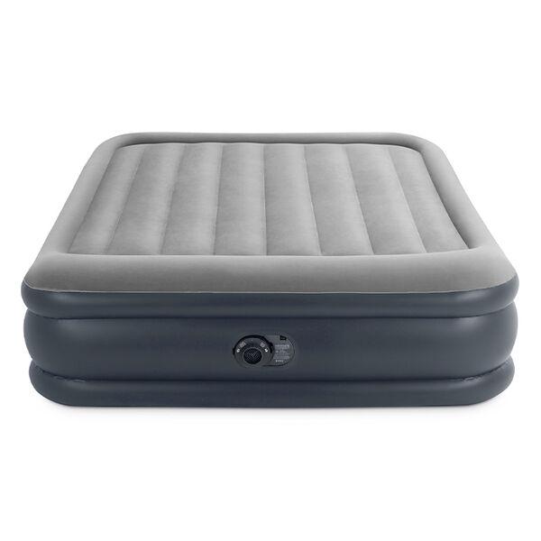 "Intex 16.5"" Dura-Beam Deluxe Pillow Rest Airbed w/QuickFill Plus Internal Pump"