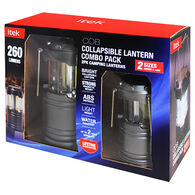 itek COB Collapsible Lantern Combo Pack