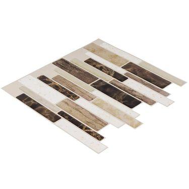 Peel and Stick Mosaics, Canyon- 5 Pack