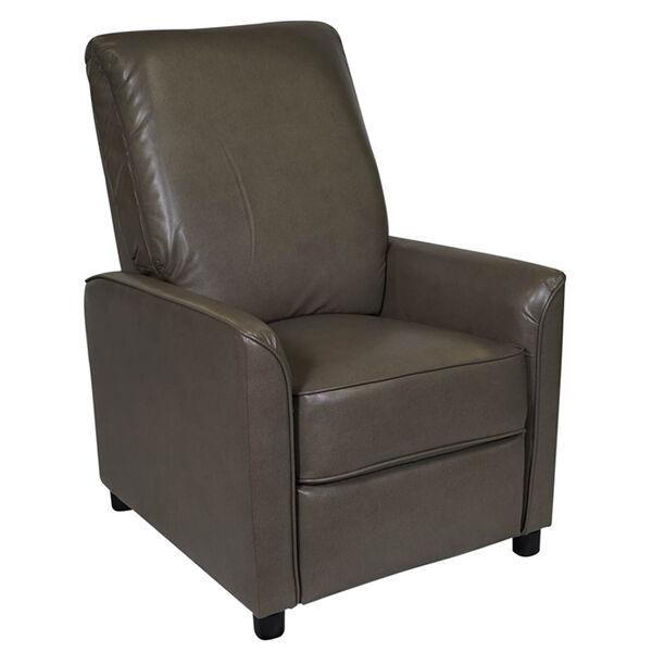 Allure Furniture Push-Back Recliner, Stentor Pebble