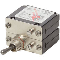 Blue Sea Systems COTS Military-Grade A-Series Toggle Circuit Breaker, 2 Pole 5A