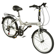 Stowaway 12-Speed Folding Bike, Silver