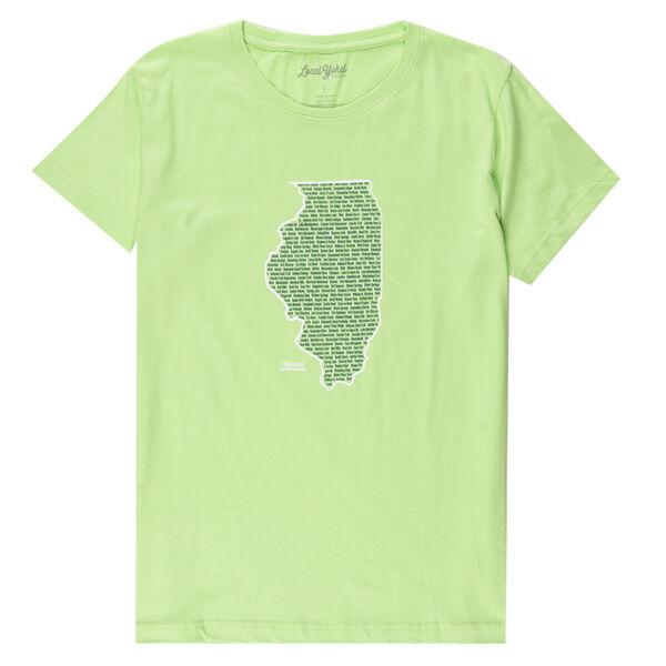 Local Yokel Women's Illinois Parks & Rec Short-Sleeve Tee