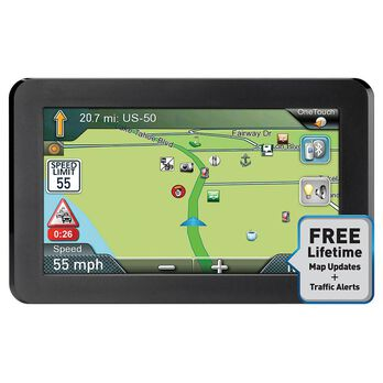"Refurbished Magellan RV9365T-LMB 7"" GPS"