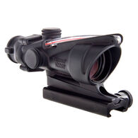 Trijicon ACOG Sight, 4x32, Dual-Illuminated Red Chevron .223 Ballistic Reticle
