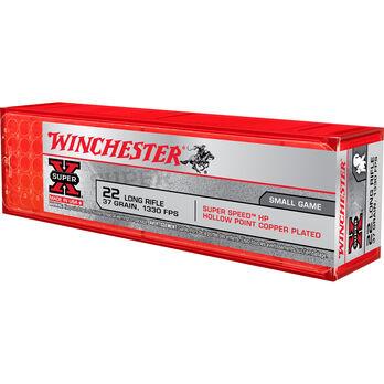Winchester Rimfire Super-X Ammunition, .22 LR, 40-gr., LHP, 100-ct.