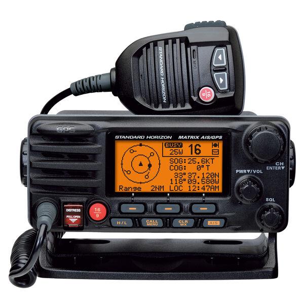 Standard Horizon MATRIX AIS+ GX2150 VHF Radio and AIS Receiver, black