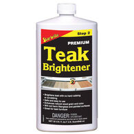 Star Brite Teak Brightener, Step 2