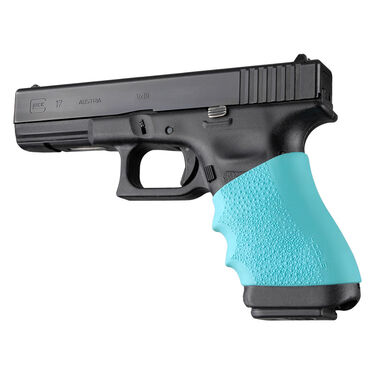 Hogue HandAll Full Size Pistol Grip Sleeve, Aqua