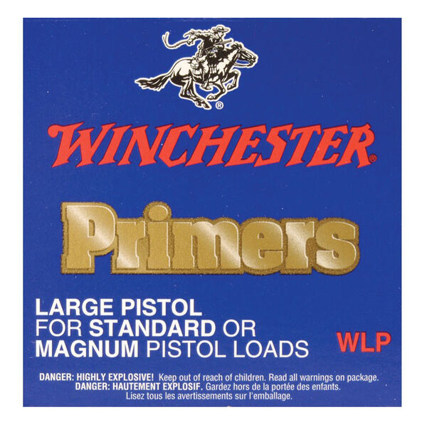 Winchester Large Regular Pistol Primers, 100-Count