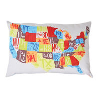 "RV Traveler's Pillow, 24"" x 16"""