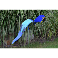 Red and Blue Macaw Lawn Ornament Set