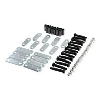 Never Fail Shackle and Bolt Suspension Hardware Kit, Tandem Axle
