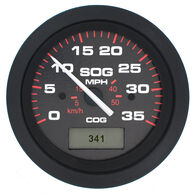"Sierra Amega 3"" GPS Speedometer With LCD Heading Display, 35 MPH"