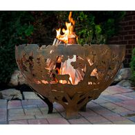 Wildlife Laser Cut Fire Bowl, Extra Large