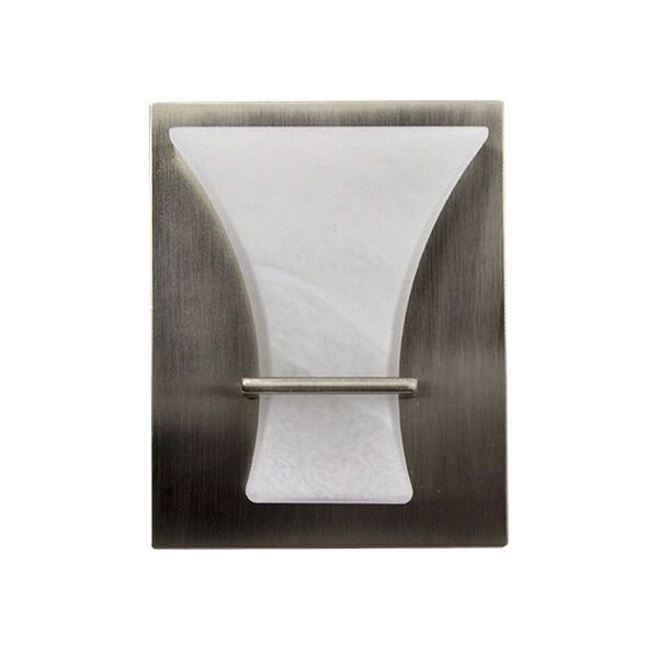 LaSalle Bristol LED Wall Sconce with Switch, Satin Nickel