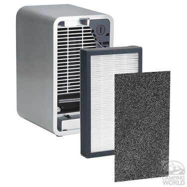"""GermGuardian 3-in-1 Table Top HEPA Air Purifier System with UV Sanitizer and Odor Reduction, 11"""""""