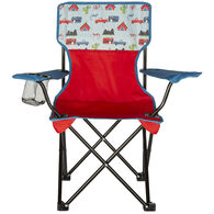 Child's Folding Camping Chair, Blue