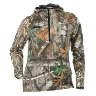 DSG Outerwear Women's Bexley Camo Tech Half-Zip Hoodie, Realtree Edge