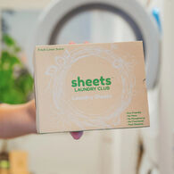 Sheets Laundry Club Laundry Detergent Sheets, Fresh Linen, 50 Sheets
