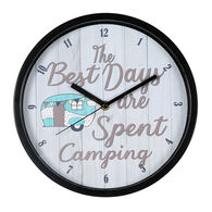 """""""The Best Days"""" Wall Clock"""