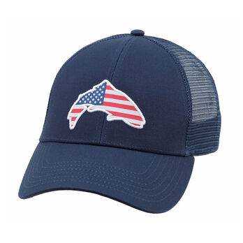 da8952d7b Simms Men's USA Patch Trucker Hat | Gander Outdoors