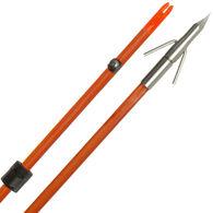 Fin-Finder Raider Pro Arrow with Riptide Point, Orange