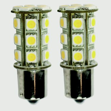 2 pack of LED bulbs for all 1016 and 1157 applications