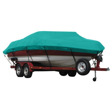 Exact Fit Covermate Sunbrella Boat Cover for Caribe Inflatables C-9/C-9X  C-9/C-9X O/B
