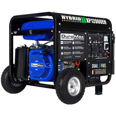 DuroMax Hybrid Dual Fuel 12,000-Watt Electric Start Generator