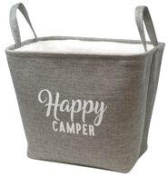 Happy Camper Storage Bin