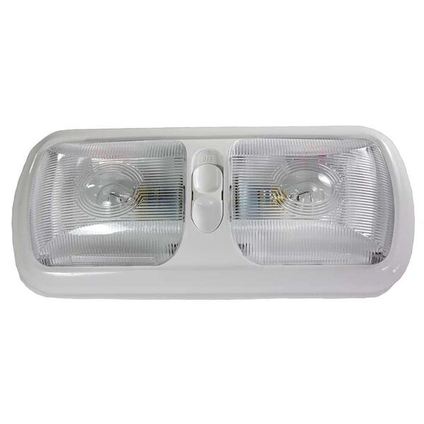Double Incandescent Euro Light with Optic Lens