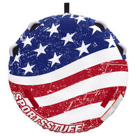 Sportsstuff Stars 'N Stripes 1-Person Towable Tube