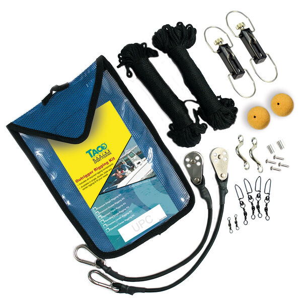 Taco Premium Outrigger Rigging Kit with 100' of Black Line