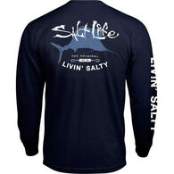 Salt Life Men's Big Shot Pocket Long-Sleeve Tee