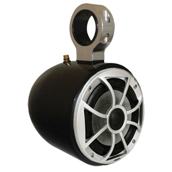 "Monster Tower Wet Sounds Single Barrel Speaker With 2.5"" Inserts, Black"