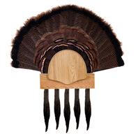Walnut Hollow Five Beard Turkey Display Kit, Oak