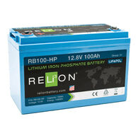 RELiON 12V 100Ah High Performing Lithium Battery