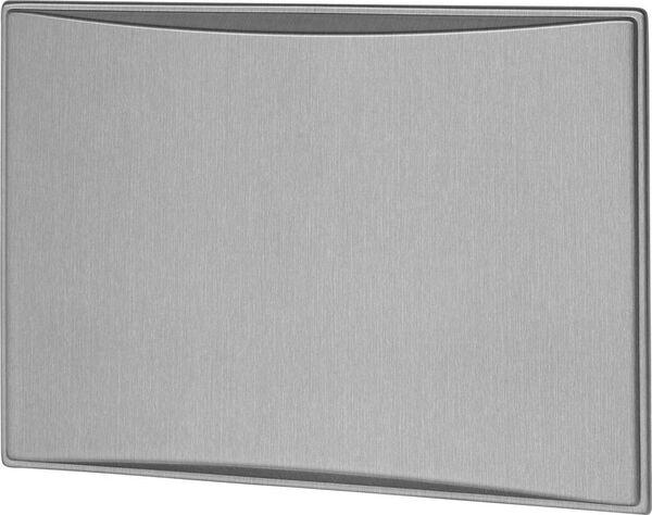 Americana & Americana Plus 6.0CF Refrigerator Door Panels, Contoured - Brushed Aluminum