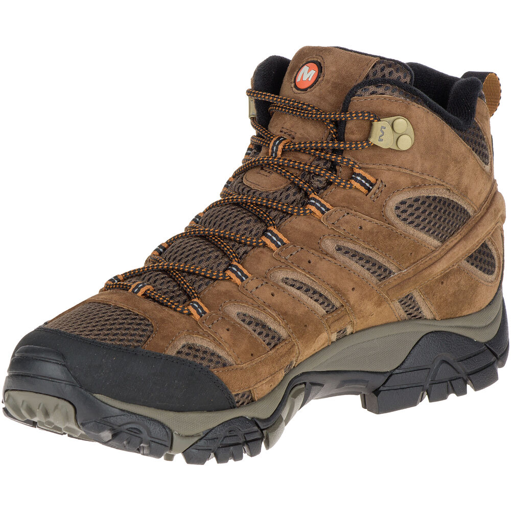 ef0569f3a5f0f Merrell Men's Moab 2 Mid Waterproof Hiking Boot   Gander Outdoors
