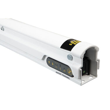 "Solera Universal Hybrid Awning Arm with Two-Position Pitch, 60.5"" White"