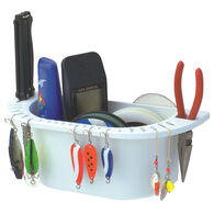 BoatMates Nautical Storage Solutions Cockpit Organizer, white