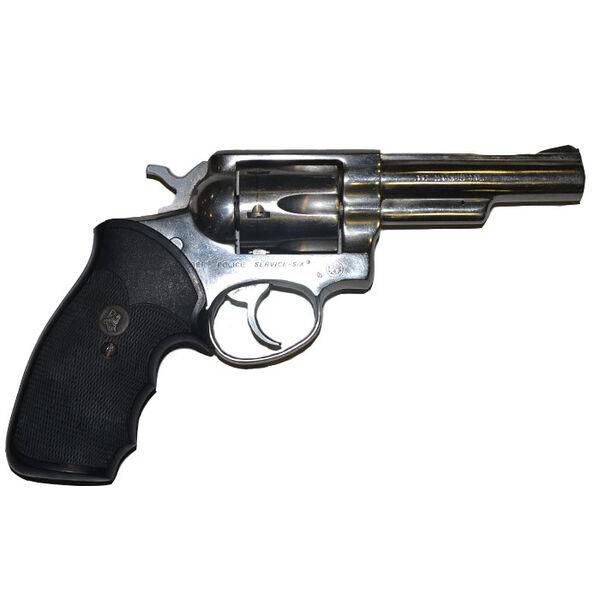 Used Ruger Police Service Six Revolver, .357 Magnum
