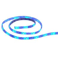 "T-H Marine LED Flex Strip Rope Light, 12""L - Blue"