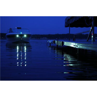 Attwood LED Stainless Steel Docking Lights, Pair