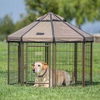 Advantek Dog Kennel Pet Gazebo, 4'