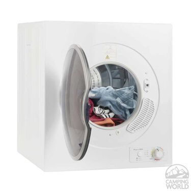 Pinnacle Compact Short Dryer, White, Vented