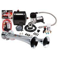 Compact Chrome Dual Truck Air Horn Kit