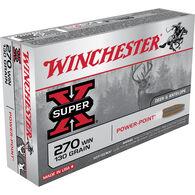Winchester Super-X Rifle Ammo, .270 Win, 130-gr., PP